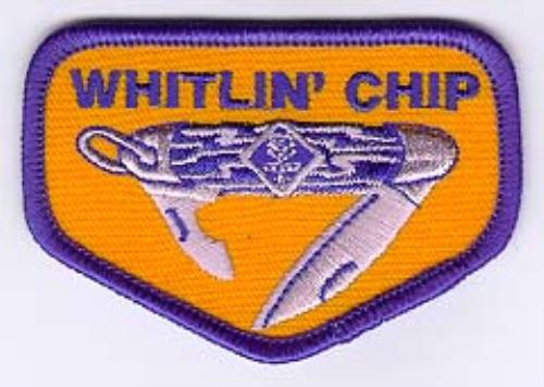 Whitlin' Chip badge